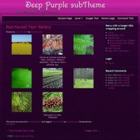 Deep Purple subTheme-Gallery