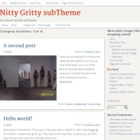 Nitty Gritty -Weaver Xtreme