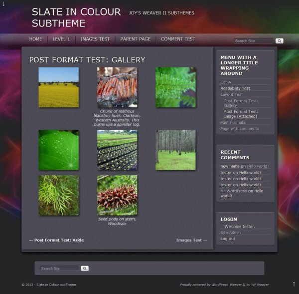 Slate in Colour subTheme-Gallery