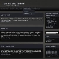 Veiled subTheme-Blog